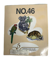 Embroidery Card Baby Lock # 46 Australian Animals Design - Shipped Free!