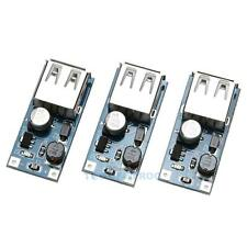 3pc USB DC Step Up Wandler Boost Modul DC-DC Spannungsregler 0.9-5V 5V 600MA