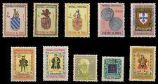 GOA, Portuguese India-10 Different Mint Stamps-Pre 1960 Period