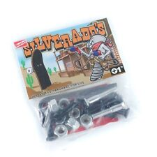 SHORTY'S SILVERADOS 1 INCH ALLEN SKATEBOARD BOLTS NEW - SHORTYS TRUCK SKATE