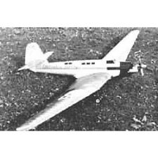 RC-Bauplan Tupolew ANT 25 Modellbau Modellbauplan