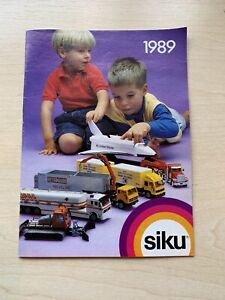 Siku Catalogue 1989