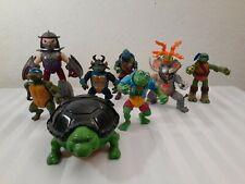 TMNT Teenage Mutant Ninja Turtles Action Figures Toy Lot Vintage 1988 Modern