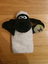"""NICI Shaun The Sheep Stuffed Plush Hand Puppet 9.5"""" from Germany - New with Tags"""