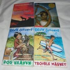 Set of 4 Graham Salisbury chapter books- Calvin Coconut+