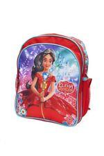 "Disney Princess Elena of Avalor Bag 12"" Red Children Kids School Kindergarten"