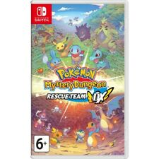 Pokemon Mystery Dungeon: Rescue Team DX (Nintendo Switch) New | Factory Sealed