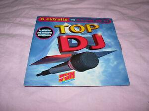 /// CD SINGLE PROMO TOP DJ 5 TITRES  / EURO DANCE 1993