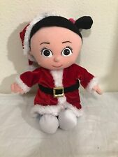 "12"" Disney Store HOLIDAY BOO Plush Doll AA"