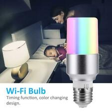 WiFi Smart LED Light Bulb Remote Controlled RGBW Dimmable Multi-Color Lamp