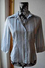 Sale / Bluse / s.Oliver  / gesteift / Gr. M / weiß/blau