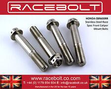 Honda CBR600RR delantero pinza pernos de montaje-racebolt Acero Inoxidable Race Spec