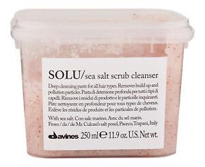 Davines Solu Sea Salt Scrub Cleanser 250 ml. Hair & Scalp Treatment