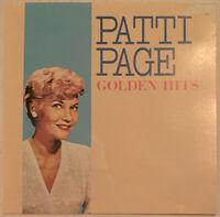 PATTI PAGE GOLDEN HITS CD MERCURY JAPAN PRESS NEAR MINT