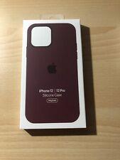 Apple Custodia MagSafe in Silicone per iPhone 12/12 Pro - Prugna