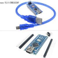 MINI/MICRO USB Nano V3.0 ATmega328P 5 V 16 M Micro-Controller Board Arduino New