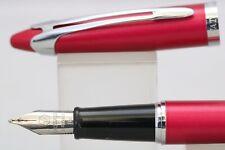 More details for vintage waterman ici et la pink medium fountain pen, gt