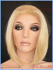 BIG WAVE BOB Lace Front Wig, Dark Platinum  HEAT OK BWB372 SS
