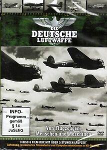 Die Deutsche Luftwaffe (3 DVDs) NE&OVP - 6 Filme auf 3 DVDs - ca. 306 Minuten