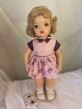 """16"""" Vintage Terri Lee Doll in Original Terri Lee Dress"""