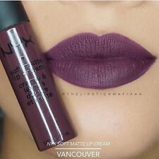 NYX Soft Matte Lip Cream - VANCOUVER ( SMLC29) ! New Shades !!!