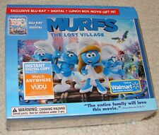 Smurfs The Lost Village (Blu-ray Disc + Digital) Lunch Box Gift Set *SEALED*