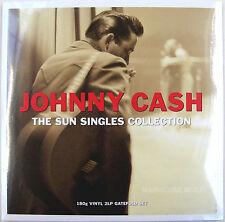 Rockabilly JOHNNY CASH LP x 2 Original Sun Singles 1955-58 180 gram UK SEALED