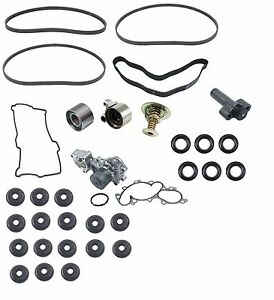 For Toyota 4 Runner 3.4L Complete Timing Belt Kit W/ Thermo Belts Valve Cover