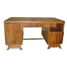 Stylish Rosewood Art Deco Desk c. 1930 #1438