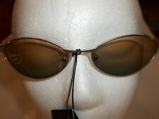 NEW SOLNEX LADIES DESIGNER SUNGLASSES SILVER METAL FRAME MAXIMUM UV PROTECTION,,