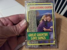 GREAT COUNTRY LOVE SONGS (CASSETTE)