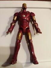 "Marvel Iron Man Electronic Talking 12"" Repulsor Action figure 2007 Vtg"