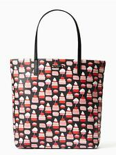 KATE SPADE Take The Cake Bon Shopper Daycation Tote Cupcake Shoulder Bag NWT