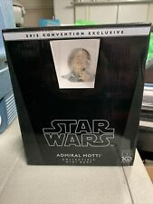 Star Wars Gentle Giant Bust Convention Exclusive Admiral Motti Signed Coa New