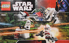 Lego Bauplan Plan Bauanleitung/Instruction v 7655 Clone Troopers Battle Pack #12
