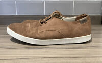 Men's Lacoste Brown Suede Casual Shoes/Trainers UK Size 11 Laces
