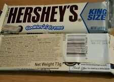 Hershey's Cookies n Cream King Size 73g, American White Chocolate Bar US Import