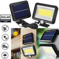 100 LED Solar Power Motion Sensor Light Outdoor Garden Floodlight Security Lamp