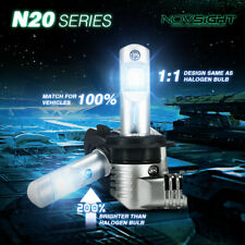 2x NOVSIGHT H7 LED Bulbs Hi/Low Beam 50W 10000LM Headlight Conversion Kit 6500K
