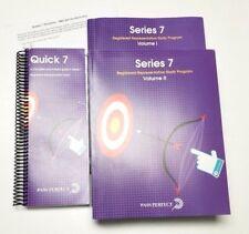 Pass Perfect Series 7 Volume 1&2 Study Program Quick 7 Pocket-book Guide & Quiz