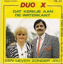 Duo X-Dat Kerkje Aan De Waterkant vinyl single