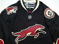 Arizona Coyotes Jersey Phoenix black Reebok M third alternate M mens NHL