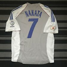 Japan Player Issue World Cup 2002 NAKATA 7 Adidas 2002-2003 Away Shirt Size L/XL