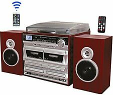 TechPlay ODCR2110 BT, High power turntable, W/Dual CD Player/Recorder