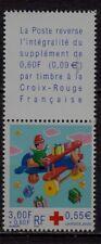 n°12) Timbres CROIX ROUGE Neuf**MNH 2000 n°3362 + Vignette (AVION)