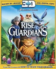 Rise of the Guardians 3D (Blu-ray 3D + Blu-ray + DVD)