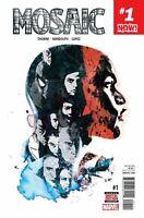 MOSAIC #1 MARVEL COMICS 2016 1st PRINT Cover A