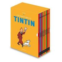 Tintin Paperback Boxed Set 23 Book Titles Set Collection Herge