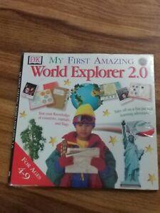My First Amazing World Explorer 2.0 [CD-ROM] Win / Mac children homeschool new