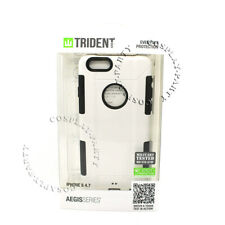 Trident Aegis iPhone 6 iPhone 6s Shockproof Hard Snap Cover Case - White / Black